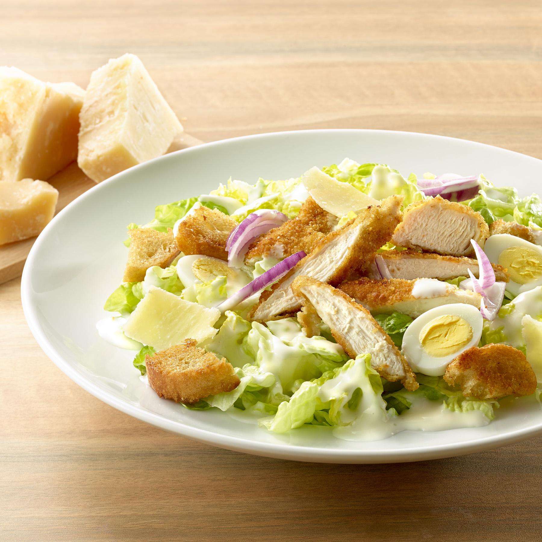 Shooting La Comtoise salade caesar