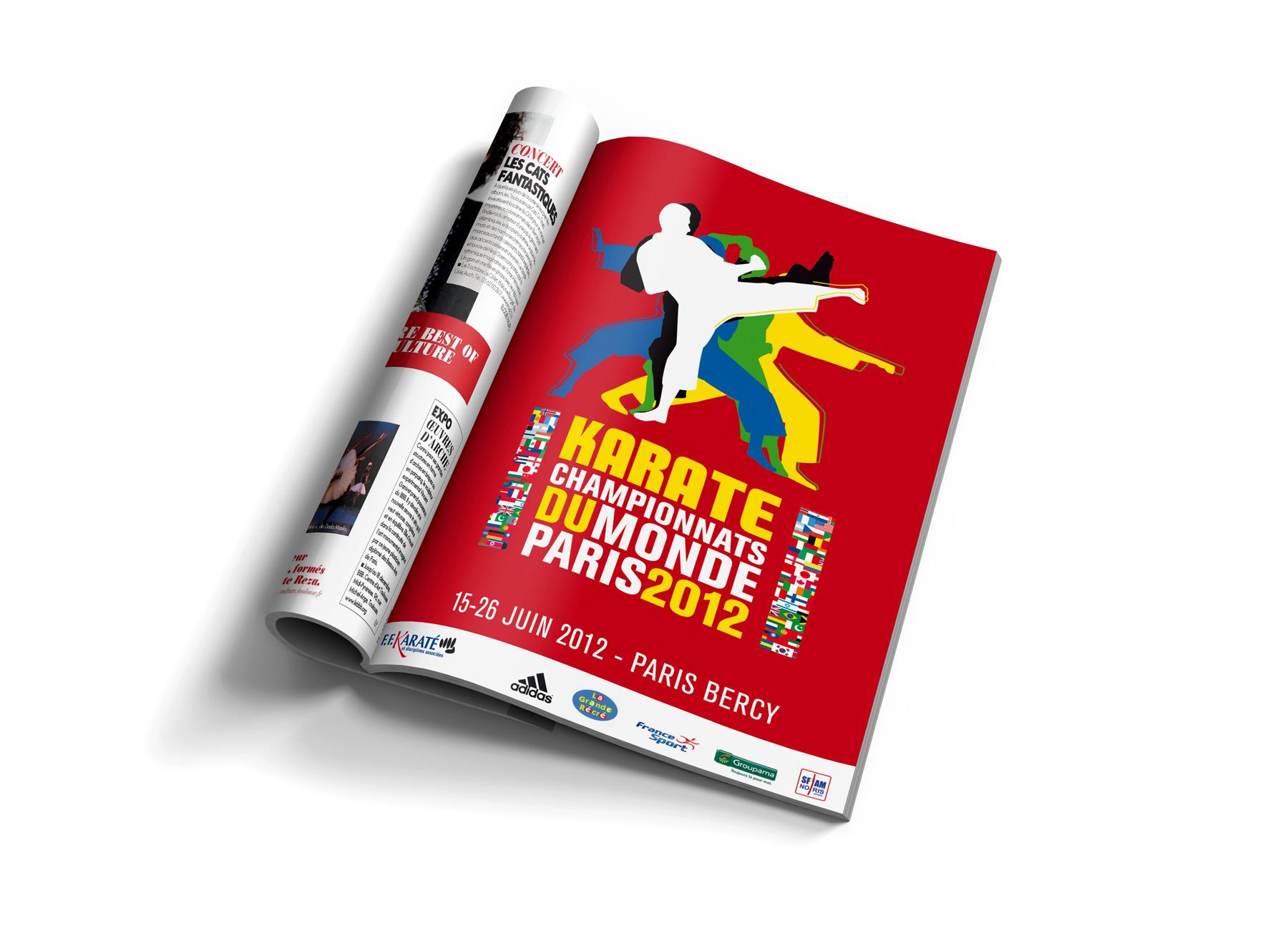 Annonce presse Championnats du Monde de Karaté