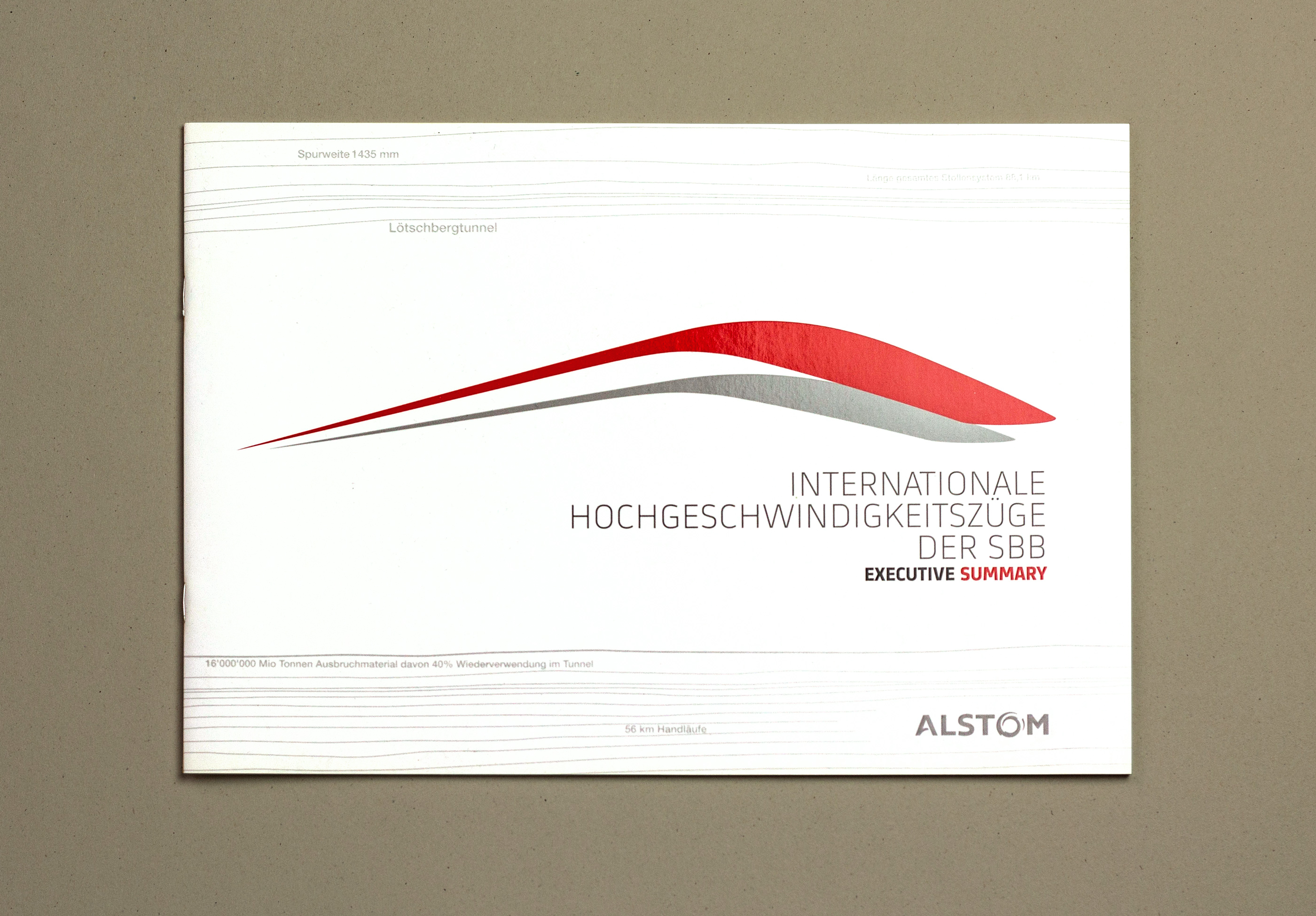 Alstom Transport Executive summary couverture