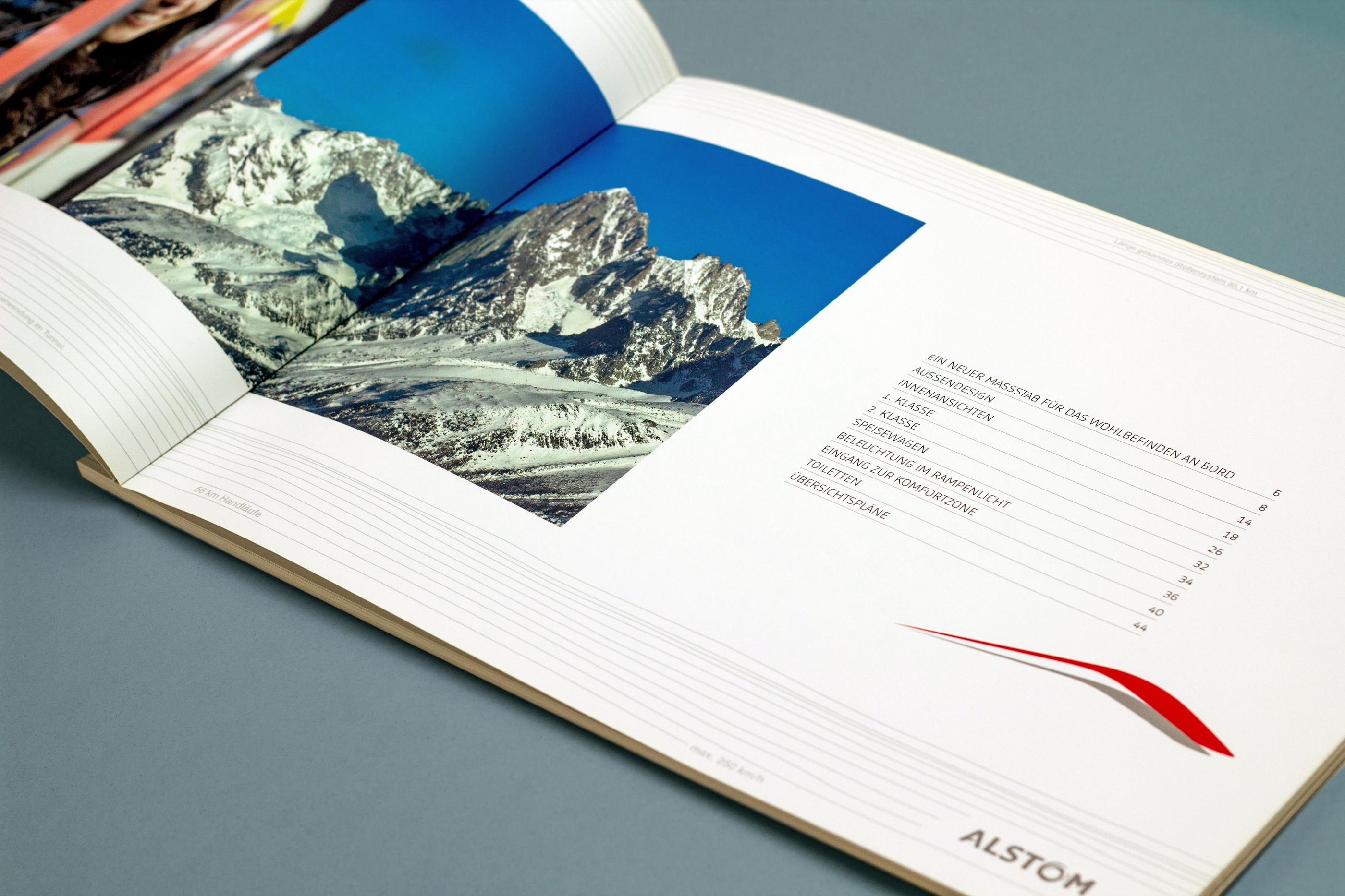 Alstom Transport Design book sommaire