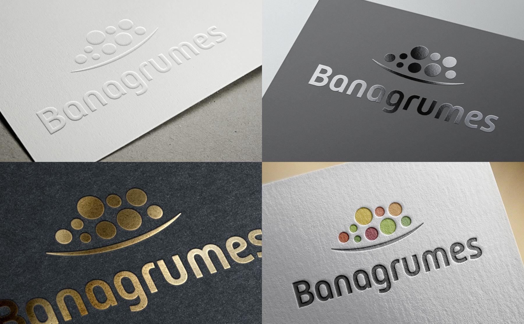 Variations couleurs logo Banagrumes