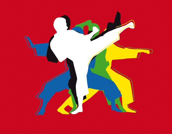 Visuel championnats du Monde de Karaté