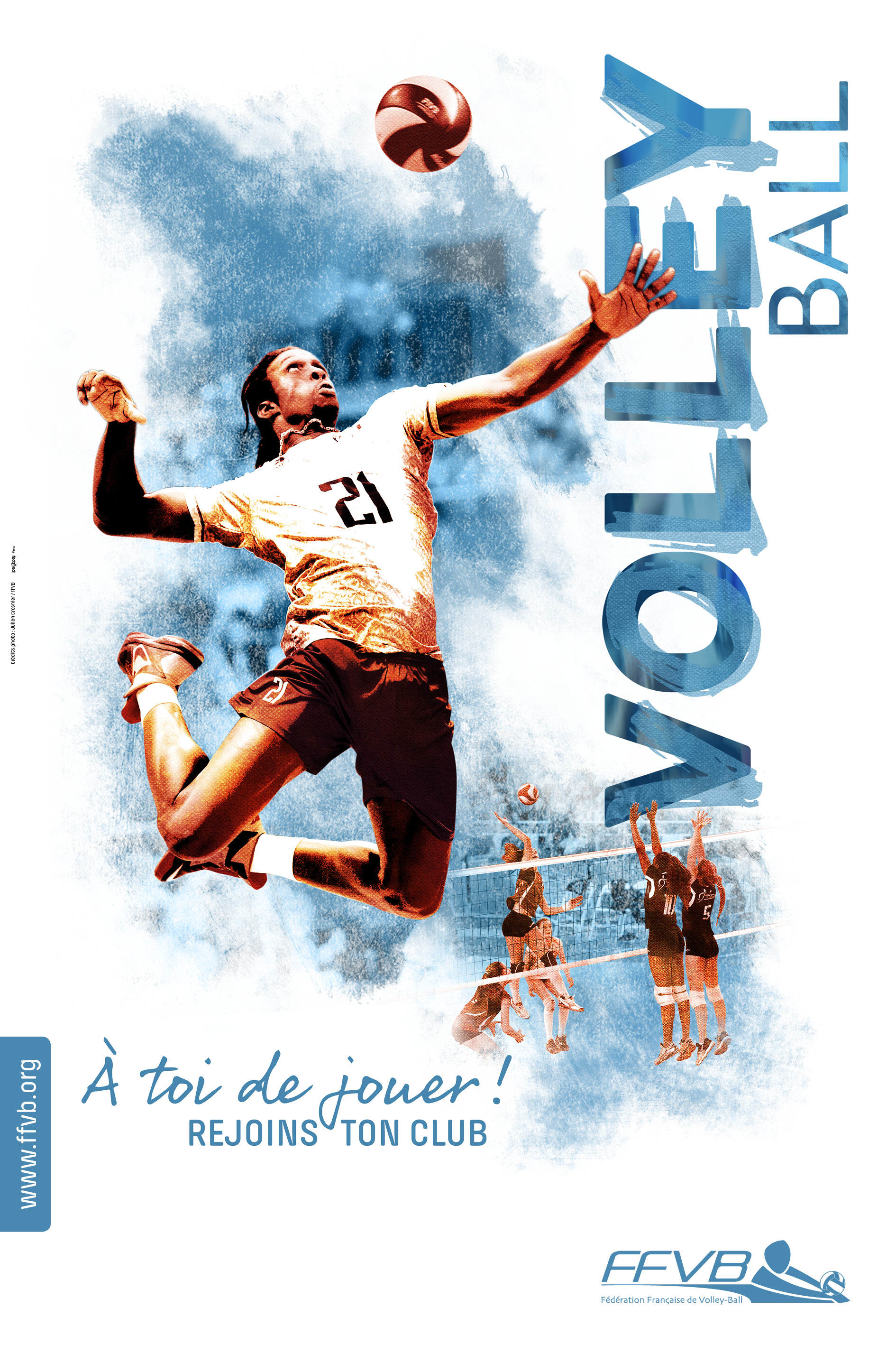 FFVolley-Campagne affiches rentrée clubs