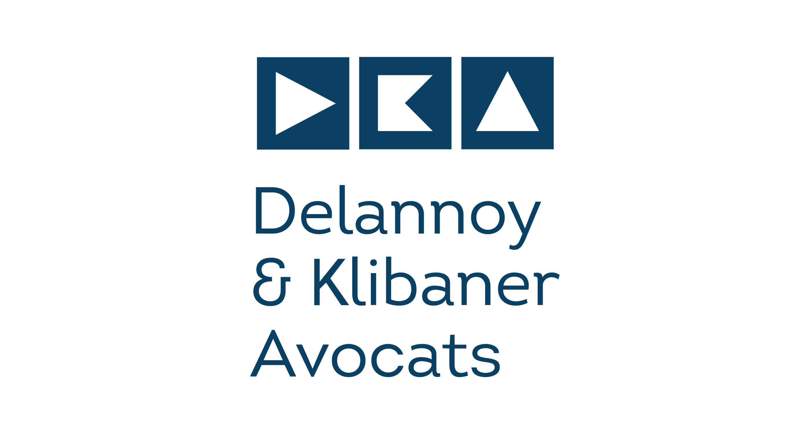 Logo Delannoy & Klibaner Avocats