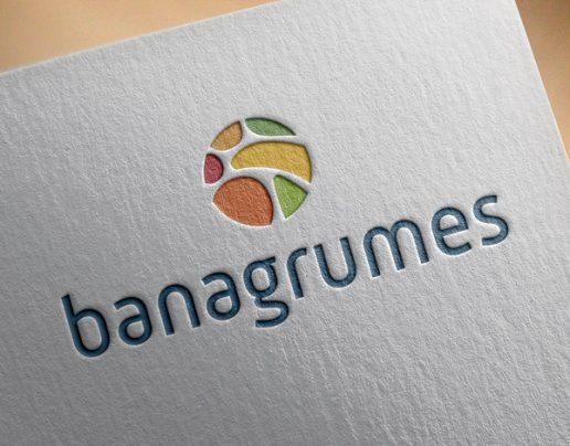 Logo Banagrumes imprimé sur papier gaufrage
