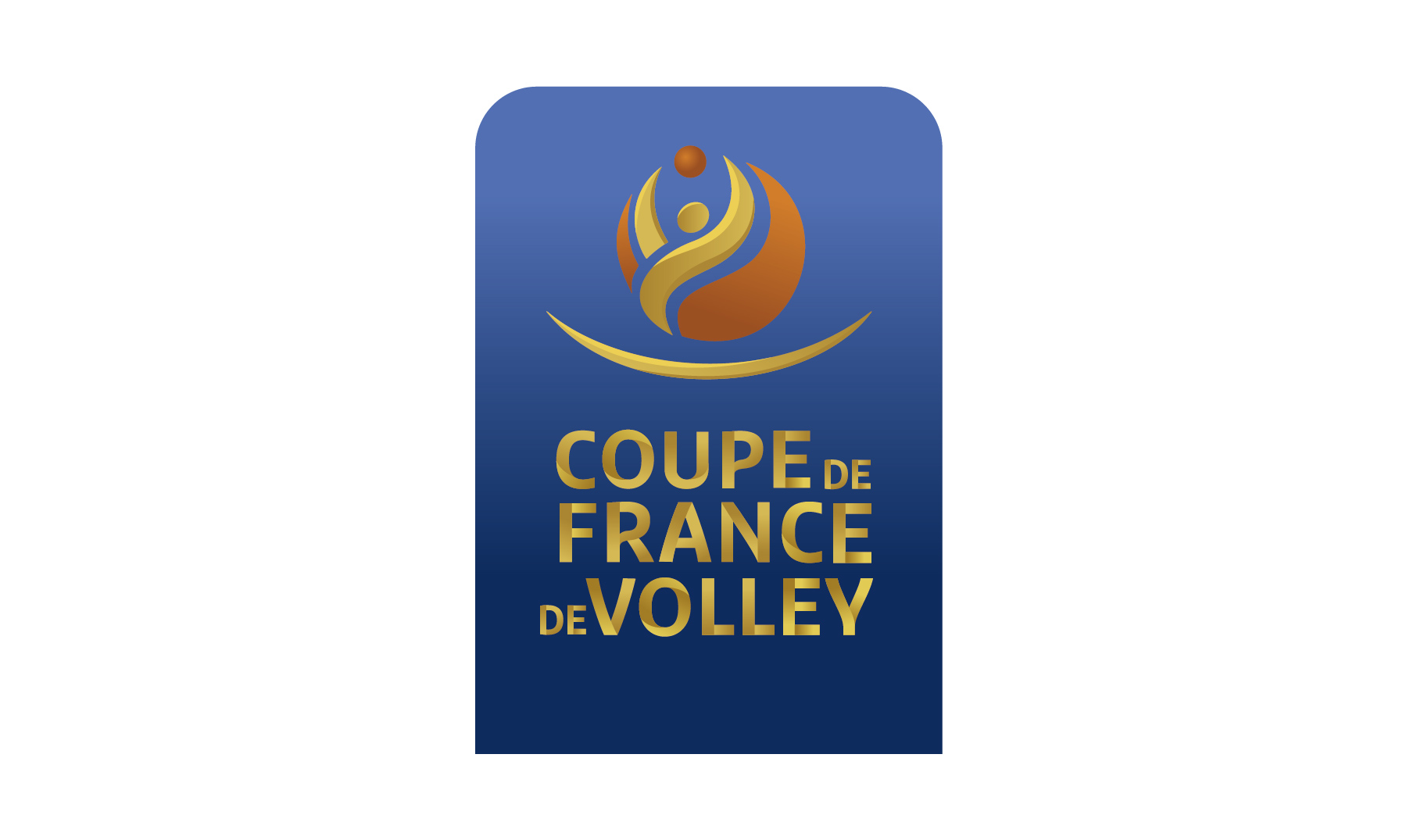Logo coupe de France de volley senior