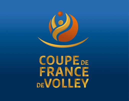 Logo coupe de France de volley