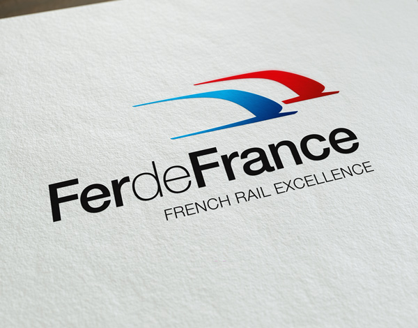 Logo Fer de France imprimé