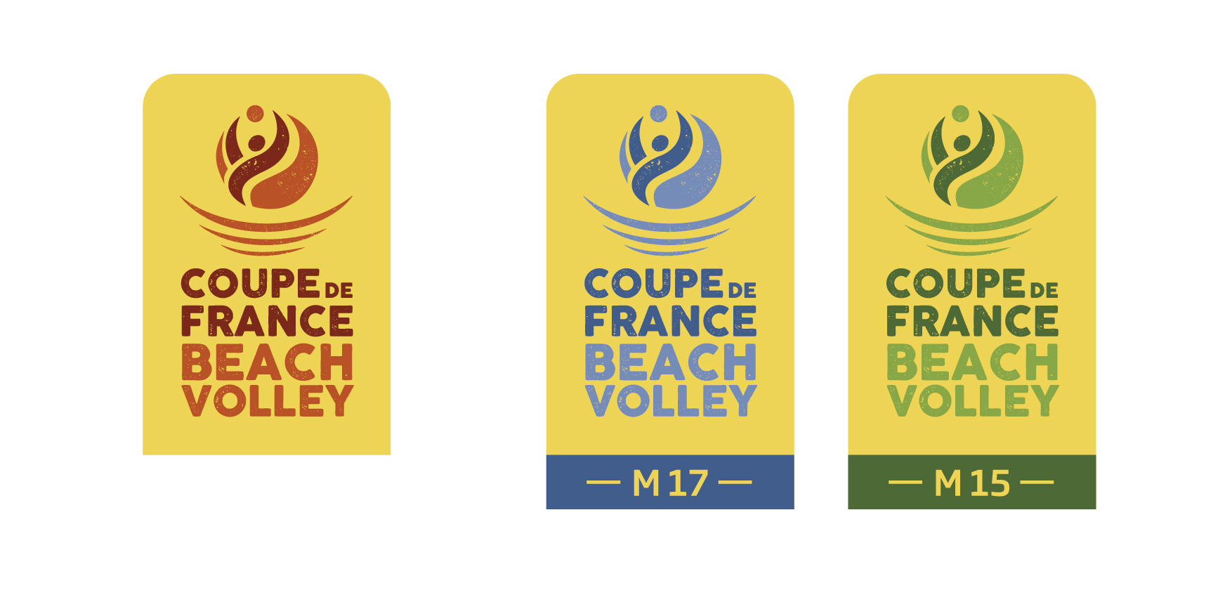 Logos coupe de France de beach volley