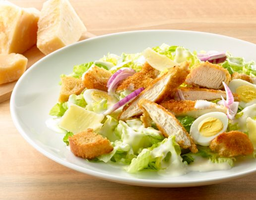 Photo salade Caesar