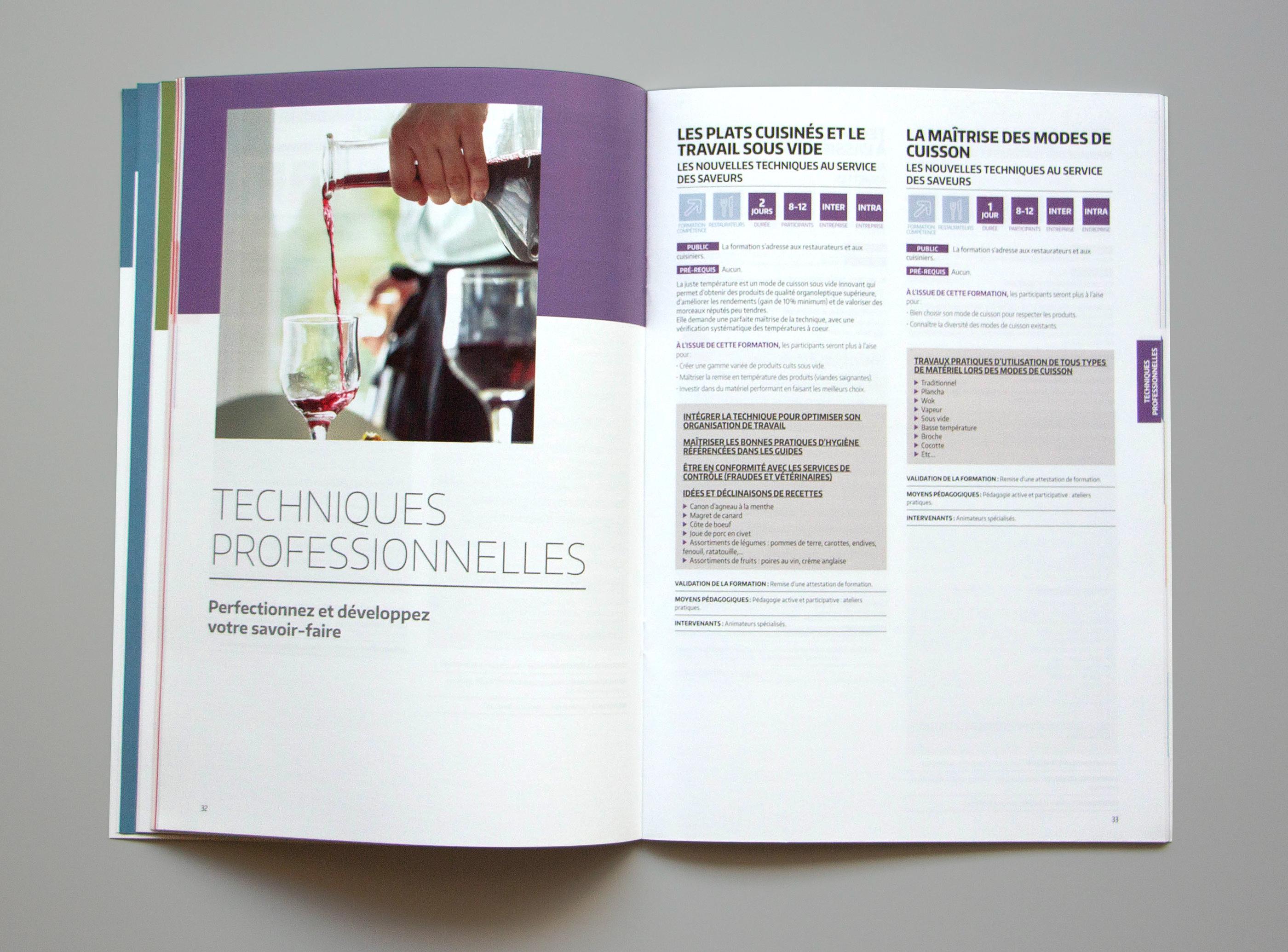 Photo d'une ouverture de chapitre du catalogue UMIH formation