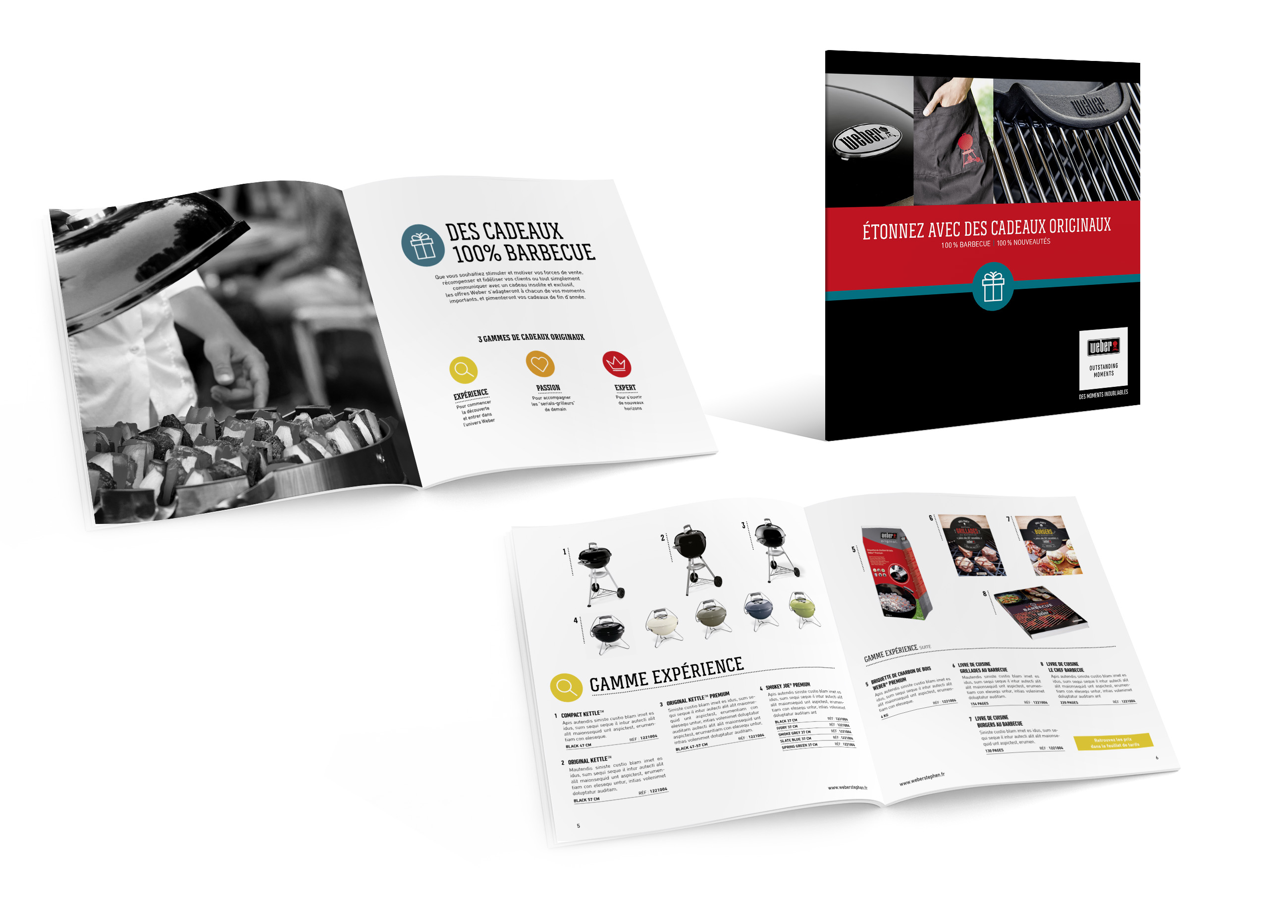 WEBER catalogue produits barbecue