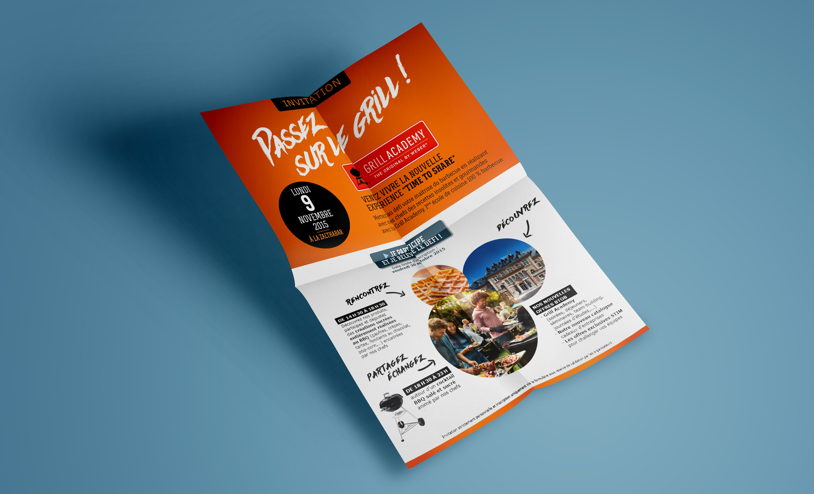 Weber mailing papier barbecue