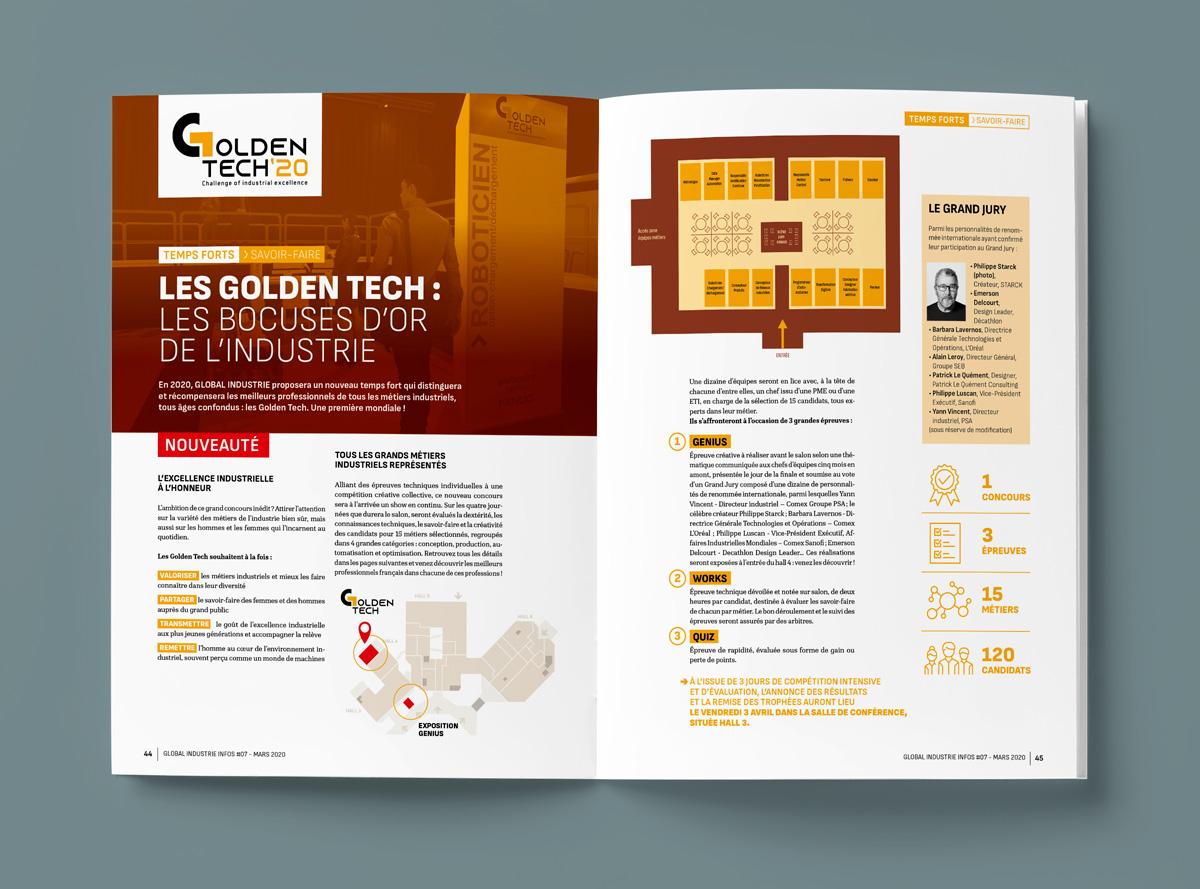 Global-Industrie - double page intérieur supplément